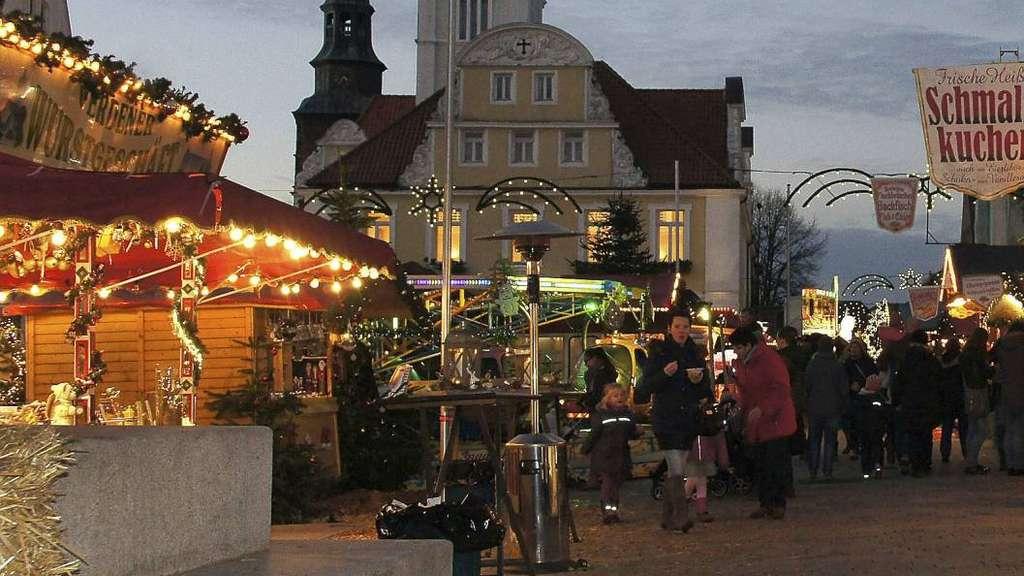 Totensonntag Weihnachtsmarkt.Weihnachten In Verden Markt Für Fünf Jahre Vergeben Verden