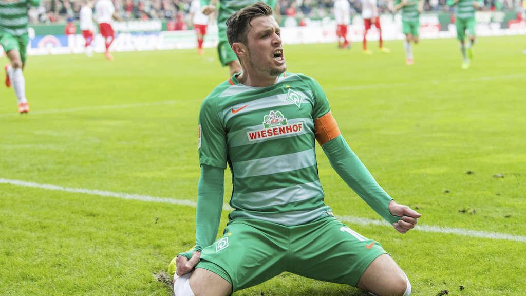 Zlatko Junuzovic Brachte Werder Bremen Dank Seines Treffers Auf Siegerstrase