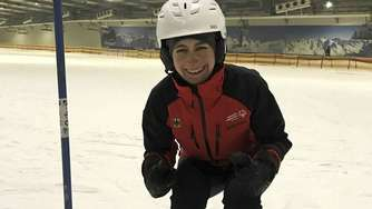 Special-Olympics-Sportlerin aus Lindwedel trainiert im Snow Dome