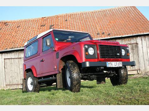 """Allrad-Klassiker 2017"" ist der Land Rover Defender."
