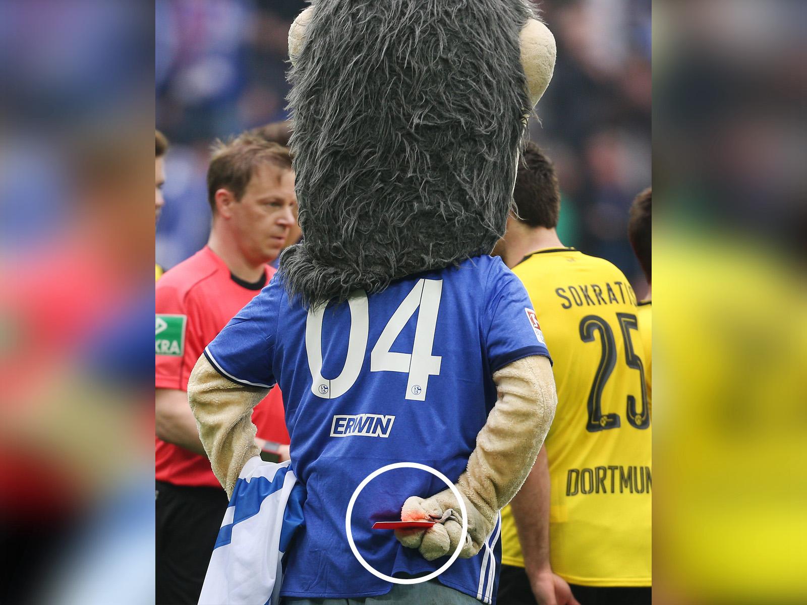 Maskottchen Schalke
