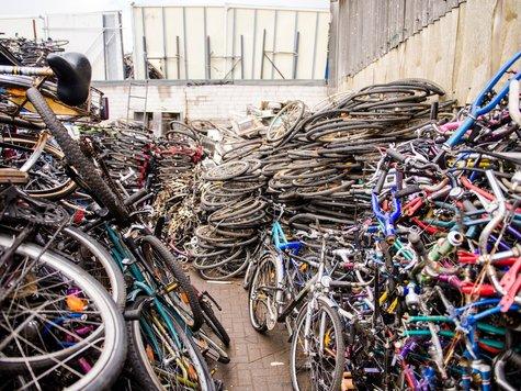 Polizei beschlagnahmt 3500 Fahrräder