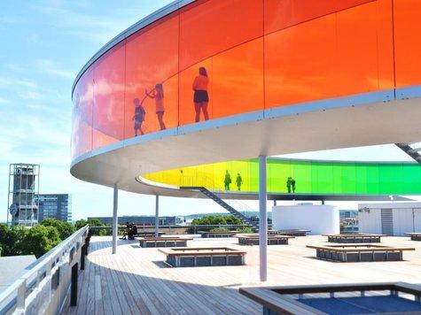 Anlaufpunkt nicht nur im Kulturhauptstadtjahr: das Kunstmuseum vonAarhus. Foto: Visit Aarhus/dpa-tdm