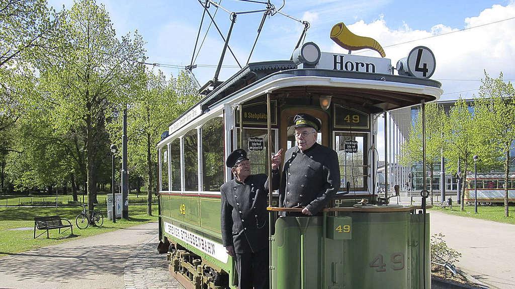 Bremen Historische Straßenbahn Restauriert Bremen