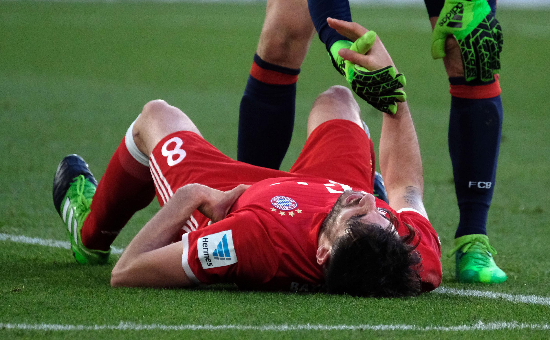 Schlüsselbeinbruch: Saison-Aus für Bayerns Javi Martínez