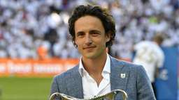 Thomas Delaney kommt per Helikopter