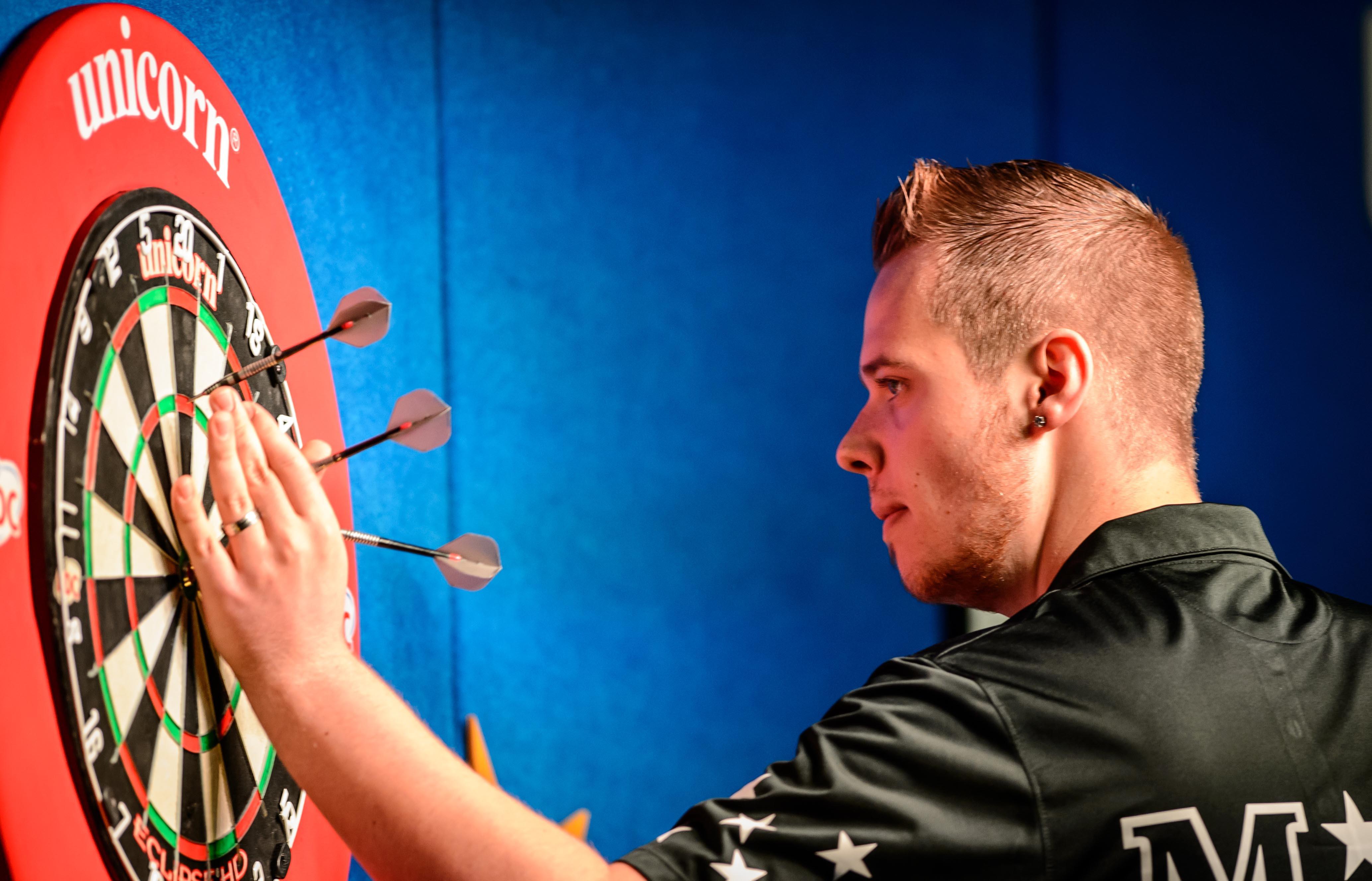 Max Hopp ist das Zugpferd im deutschen Darts-Team