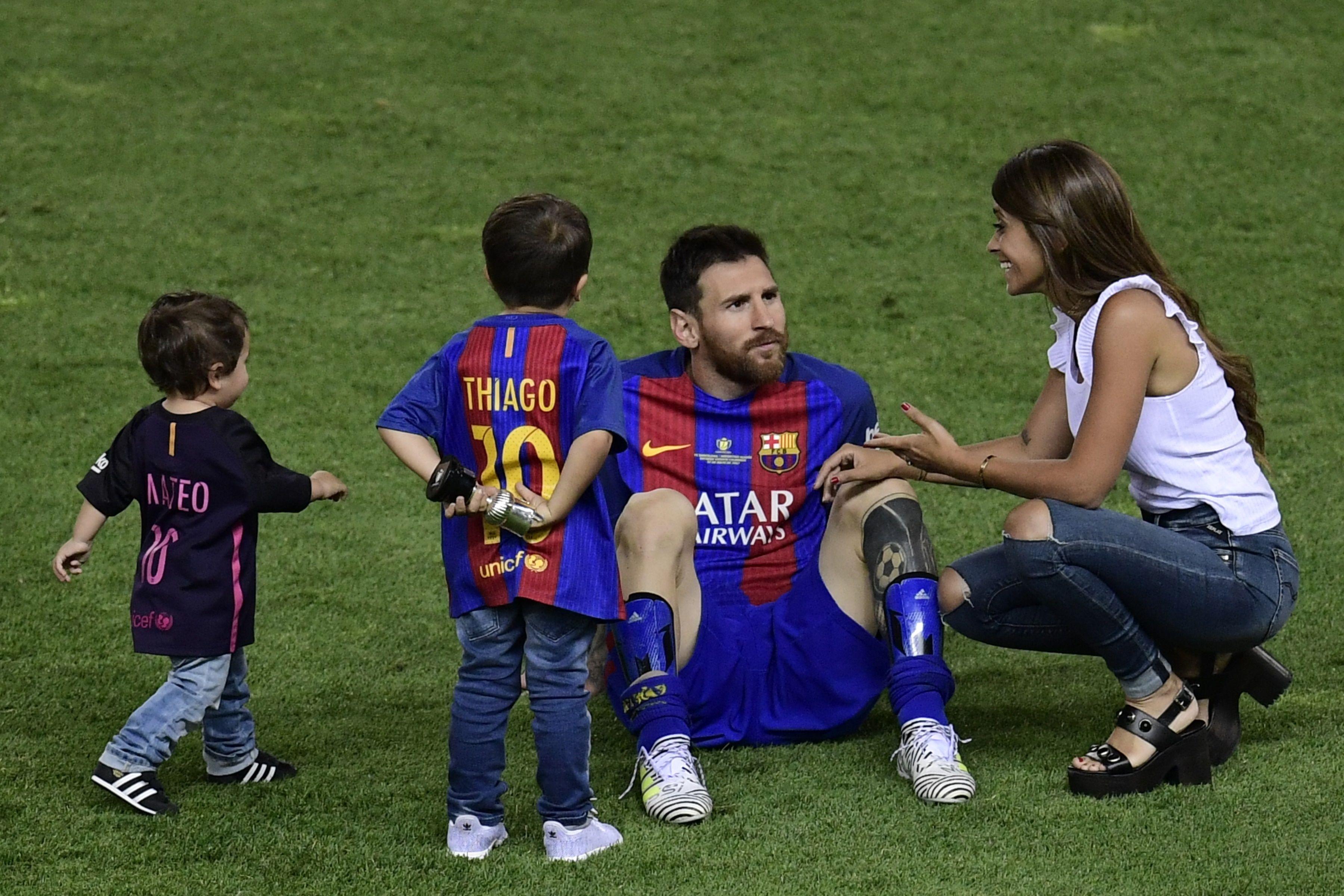 Lionel Messi heiratet in Heimatstadt Rosario seine Freundin