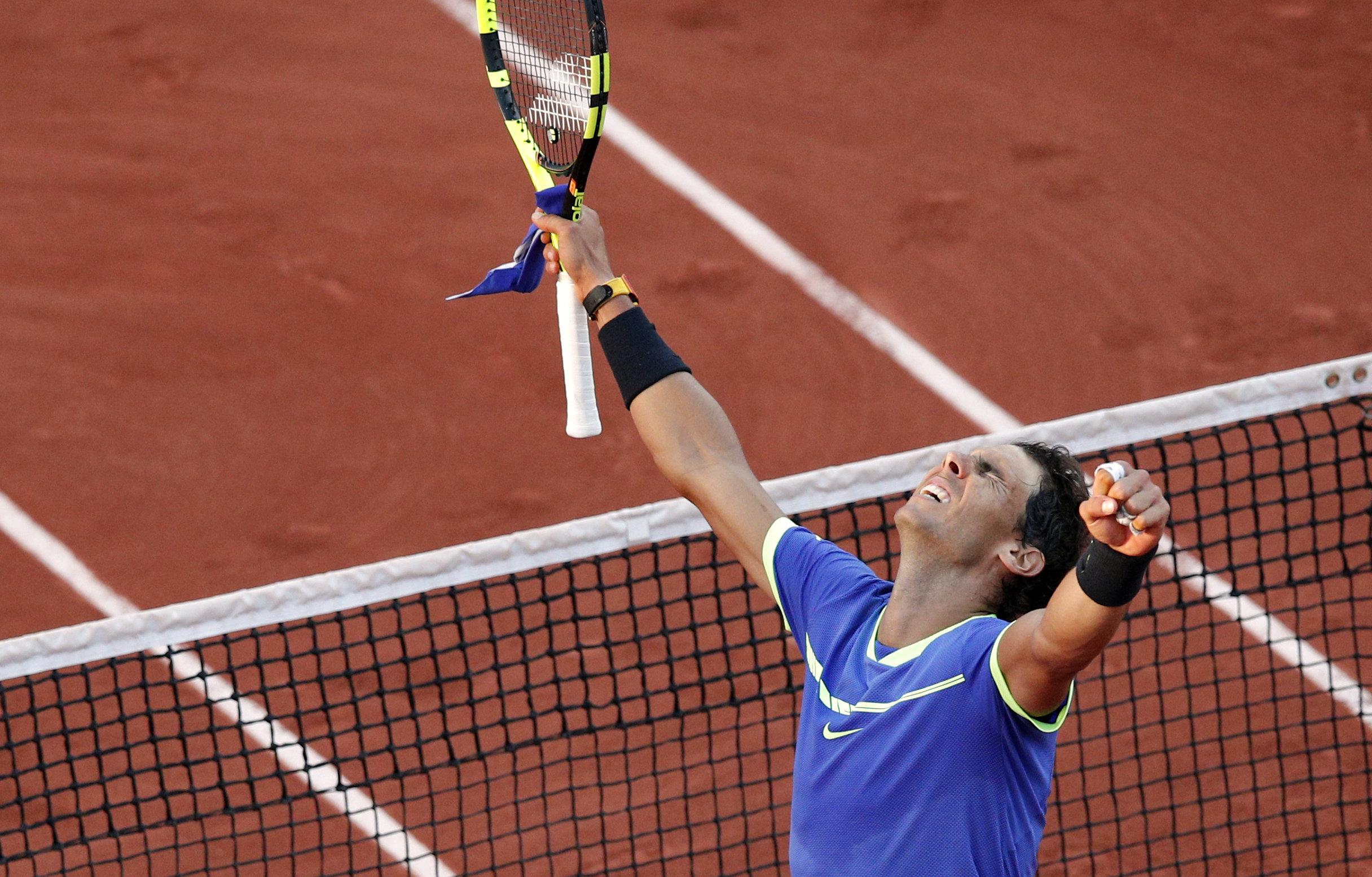 Rafael Nadal schrieb mit 10. French-Open-Triumph Geschichte