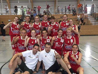 Junior Hurricanes steigen in die U18-Basketball-Bundesliga auf