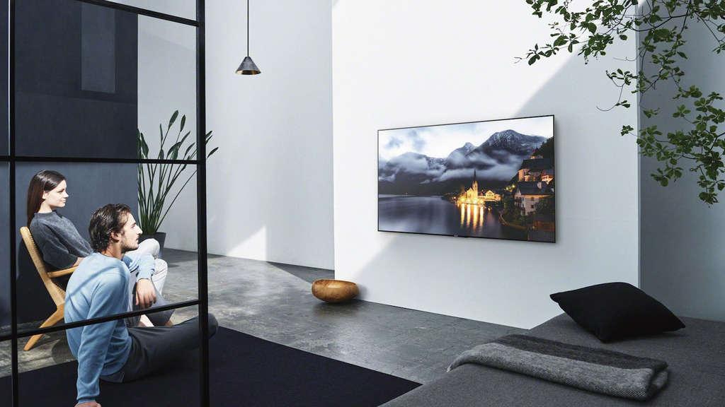 65 zoll fernseher im test technik. Black Bedroom Furniture Sets. Home Design Ideas