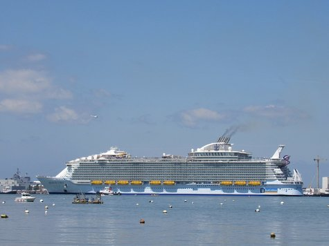 Das ist das größte Kreuzfahrtschiff der Welt