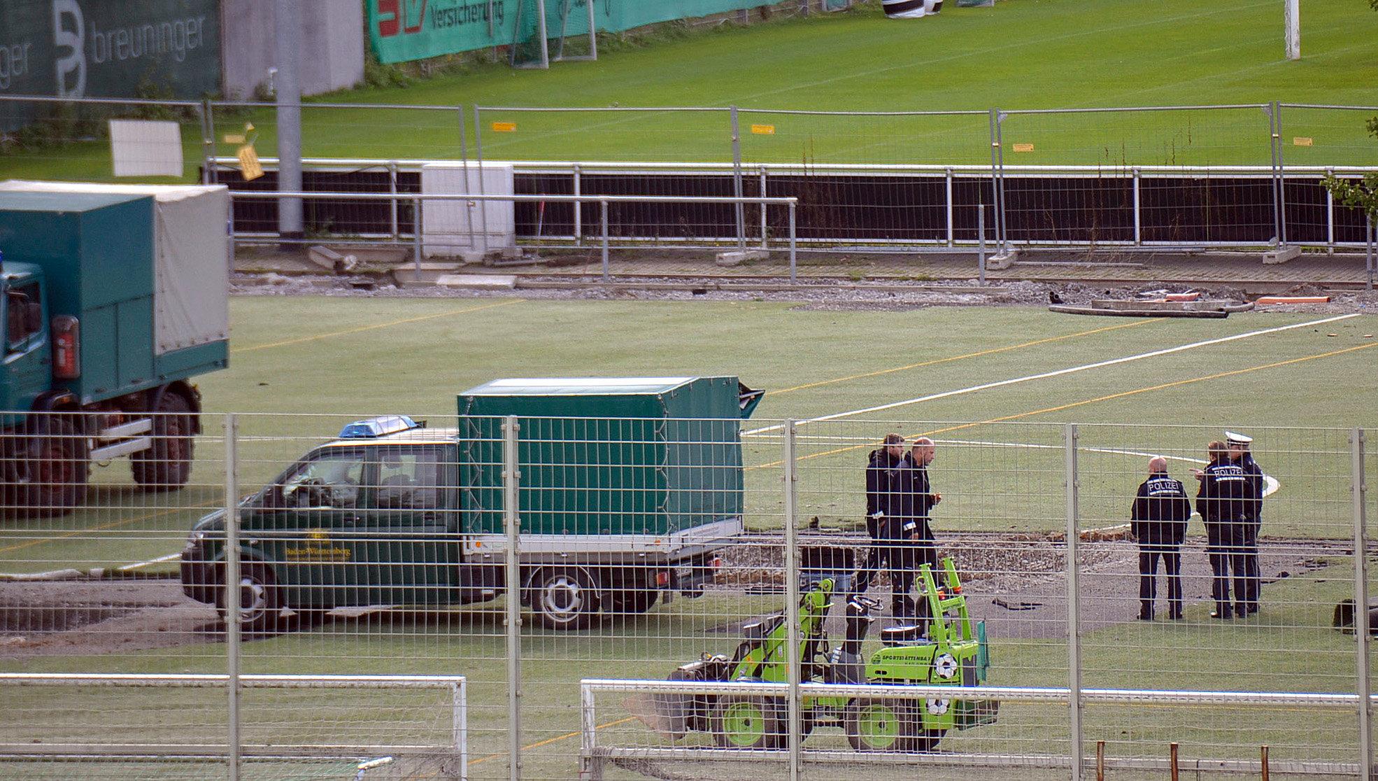 Großalarm beim VfB Stuttgart: Fliegerbombe gefunden