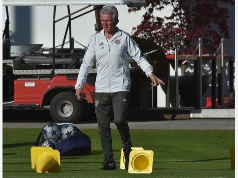 Abschlusstraining des FC Bayern