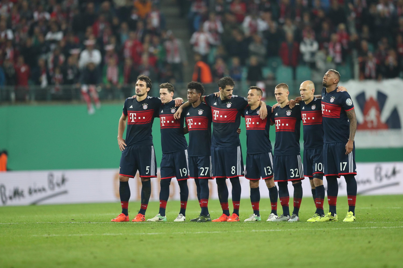 ElfmeterschieГџen Bayern Leipzig