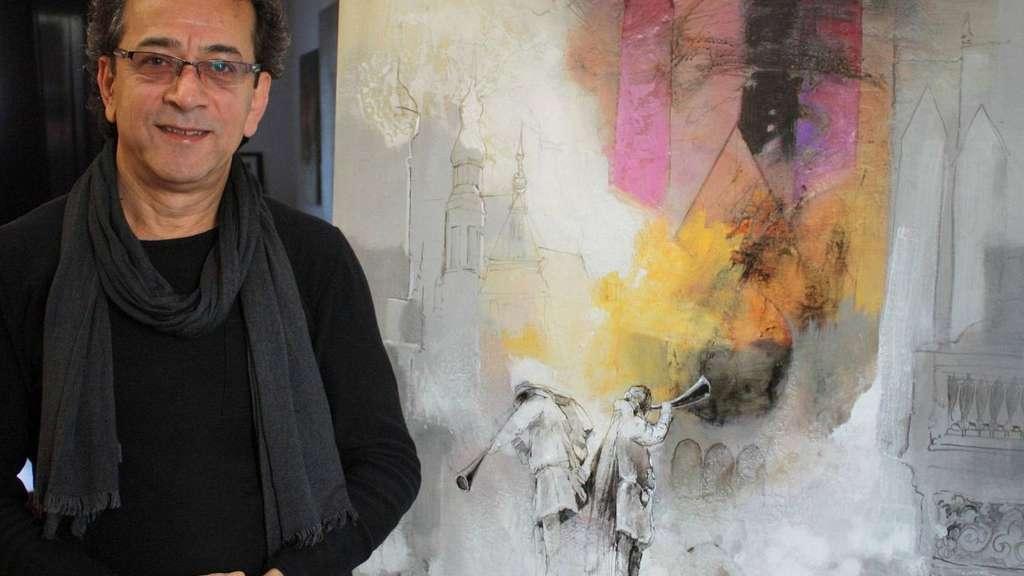 Künstler Bremen künstler naser agha aleppo nach bremen bremen