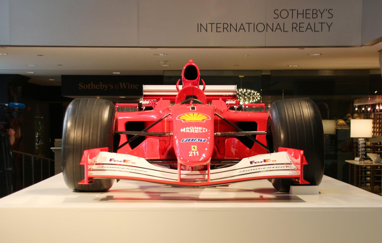 Schumachers Weltmeister-Ferrari für Rekordsumme versteigert