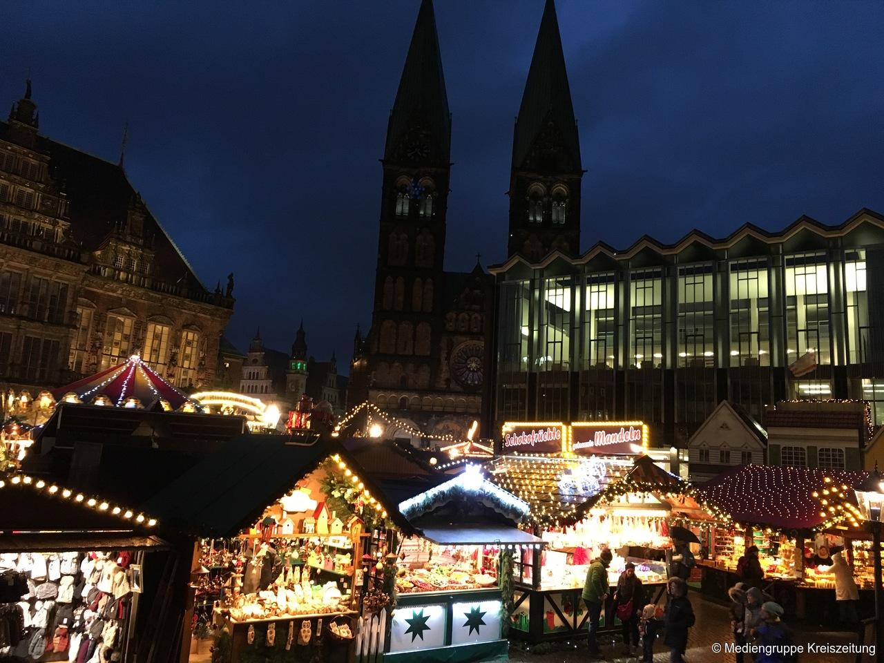 Bremen Weihnachtsmarkt.Bremer Weihnachtsmarkt Und Schlachte Zauber Eröffnet öffnungszeiten