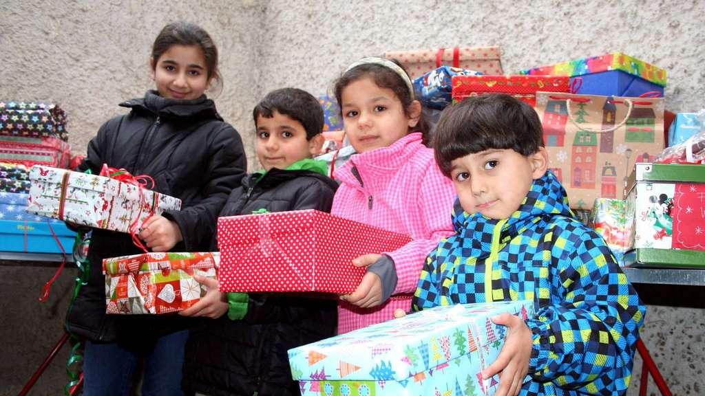 Wildeshauser Tafel verteilt 110 Geschenke an bedürftige Kinder ...