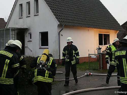 Sofa-Brand in Heede