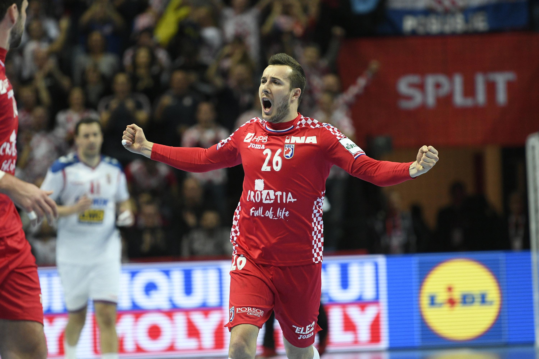 Erfolgreicher Start: Manuel Strlek und Kroatien gewinnen gegen Serbien.