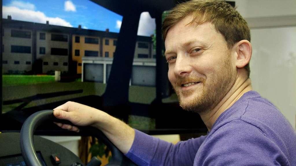 Ausbildung Zum Berufskraftfahrer In Brinkum Fahrsimulator Ist Gold