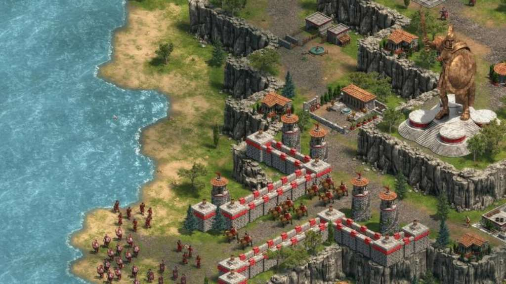 "Imperien gründen, aufbauen und ausdehnen - und dann noch ein paar Weltwunder erschaffen. ""Age of Empires Definitive Edition"" soll den Strategie-Klassiker von 1997 in moderner Form zurückbringen. Foto: Microsoft/dpa-tmn"