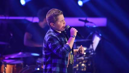 "Wildeshauser Klaas rockt die ""The Voice Kids""-Bühne mit Metallica-Song"