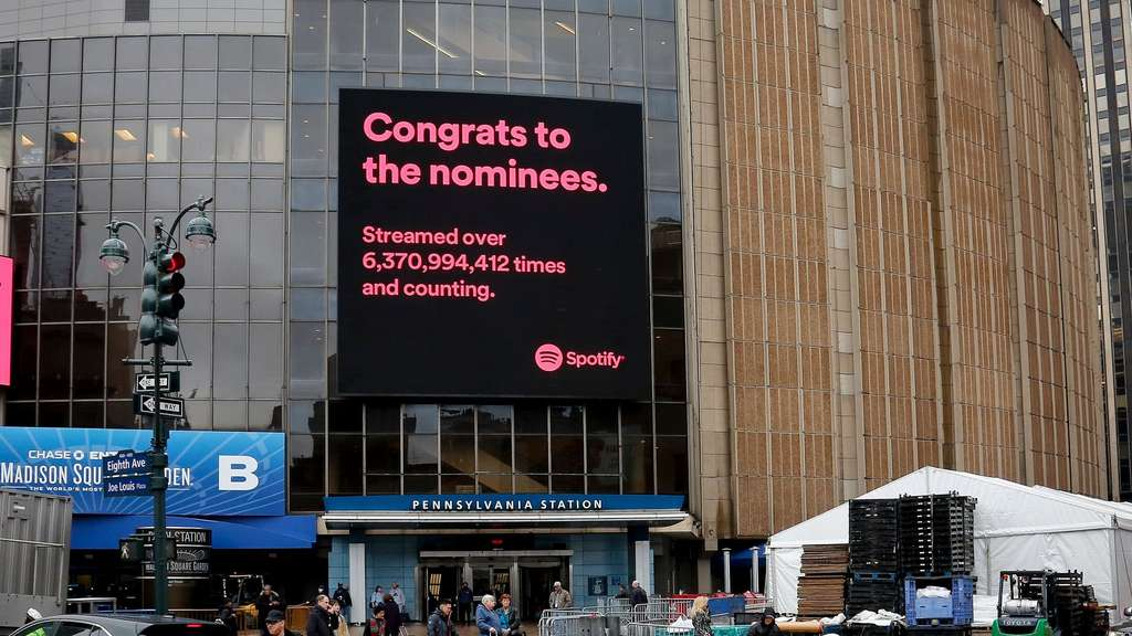 Die Grammy Awards 2018 finden im New Yorker Madison Square Garden statt.