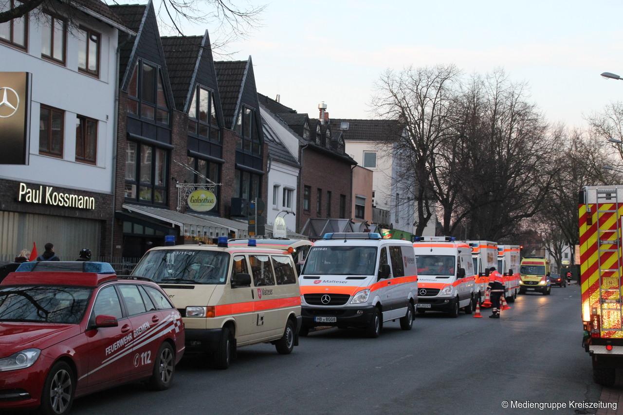 Feuer Bremen bremen feuer im klinikum mitte notaufnahme geschlossen bremen