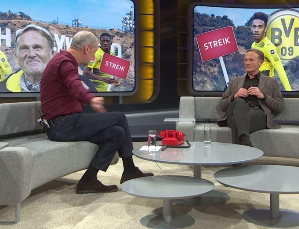 Szene bei Wontorra: Böser Seitenhieb von BVB-Boss Watzke gegen ...