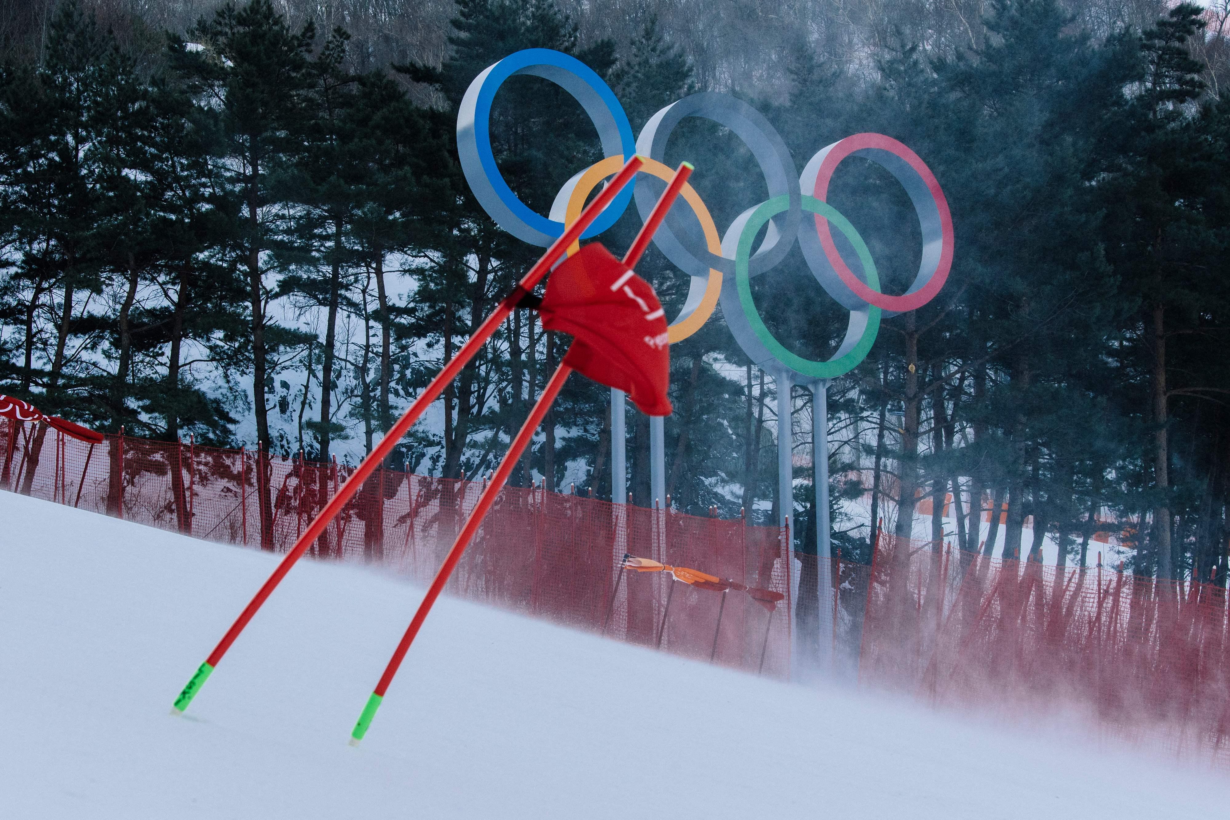 abfahrt herren olympia