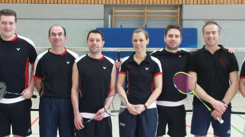 Das Verdener Meisterteam, von links: Daniel Lorenz, Lars Weizenkorn, Dominic Wardin, Ulrike Hensen, Heiner Schiller und Anja Franke.