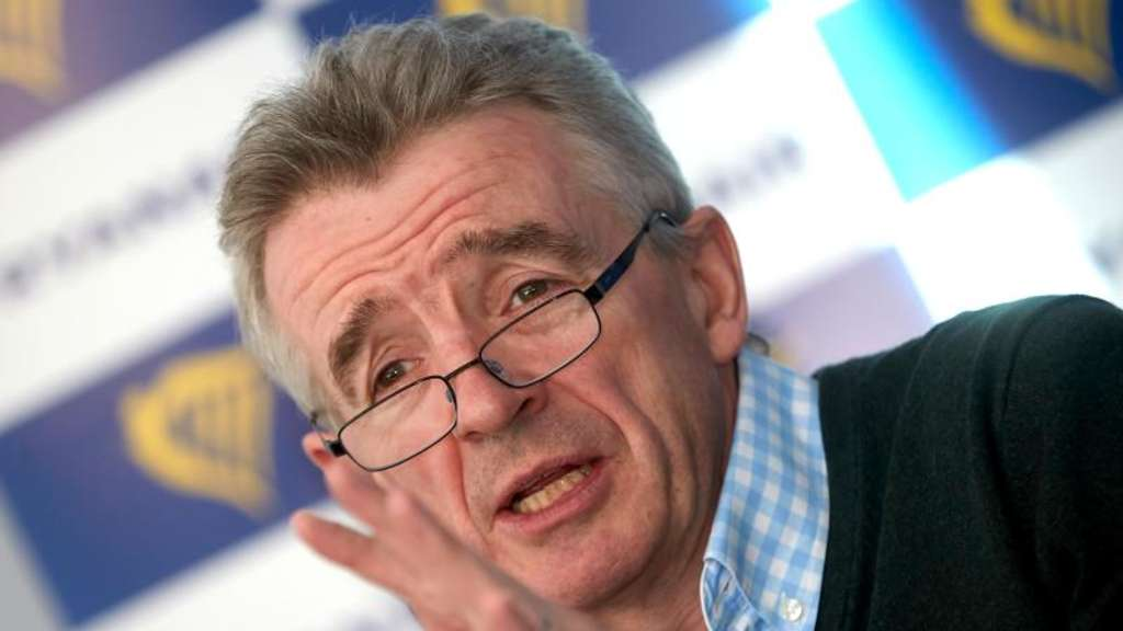 Michael O&#39Leary, Chef des irischen Billigfluges Ryanair. Foto: Thomas Frey