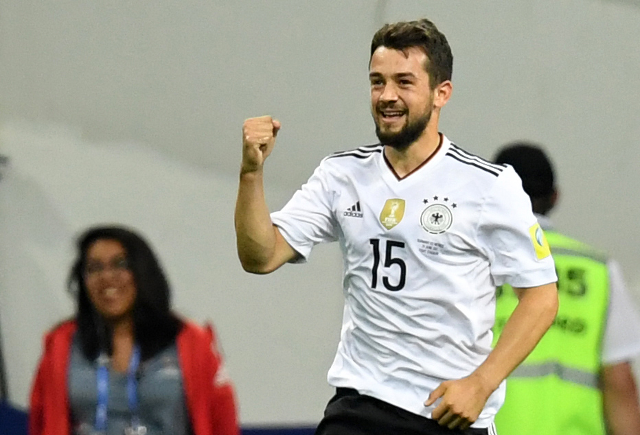 Amin Younes gewann mit dem DFB-Team 2017 den Confederations Cup