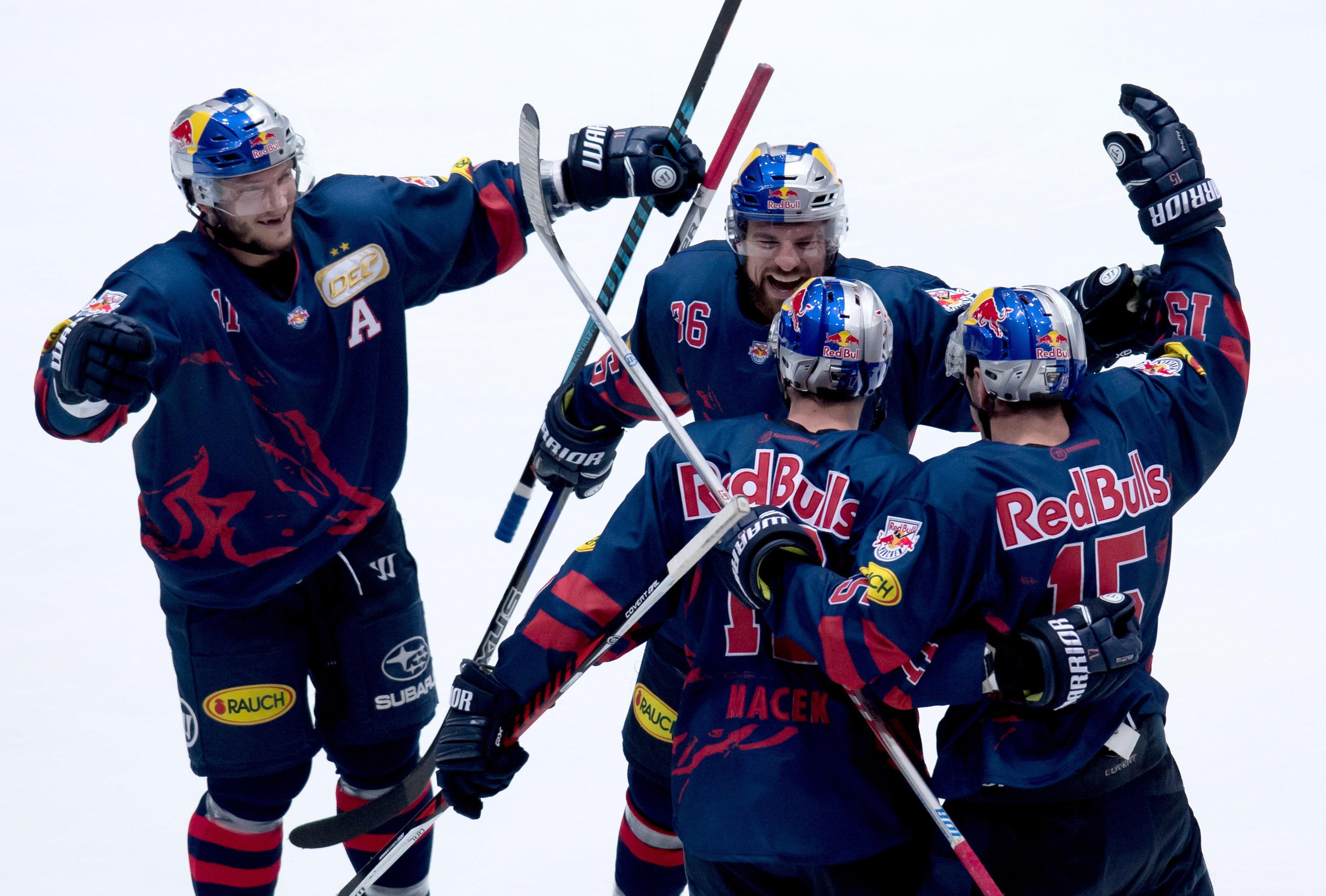 EHC Red Bull München will den dritten Titel in Folge.