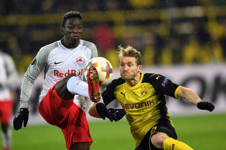 Salzburg in Bestbesetzung gegen Dortmund