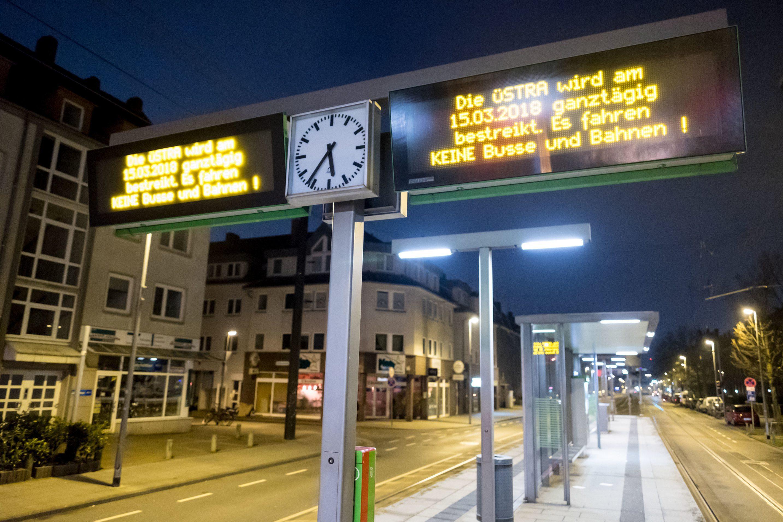 Warnstreiks Im öffentlichen Dienst In Niedersachsen Und Bremen Beginnen