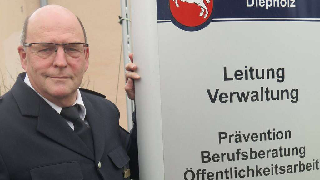 Polizeidirektor Bernd Kittelmann geht Ende April in den Ruhestand. - Foto: Seidel