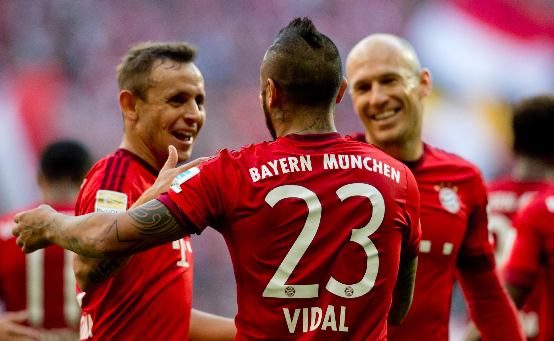 Bayern verlängern mit Robben und Rafinha