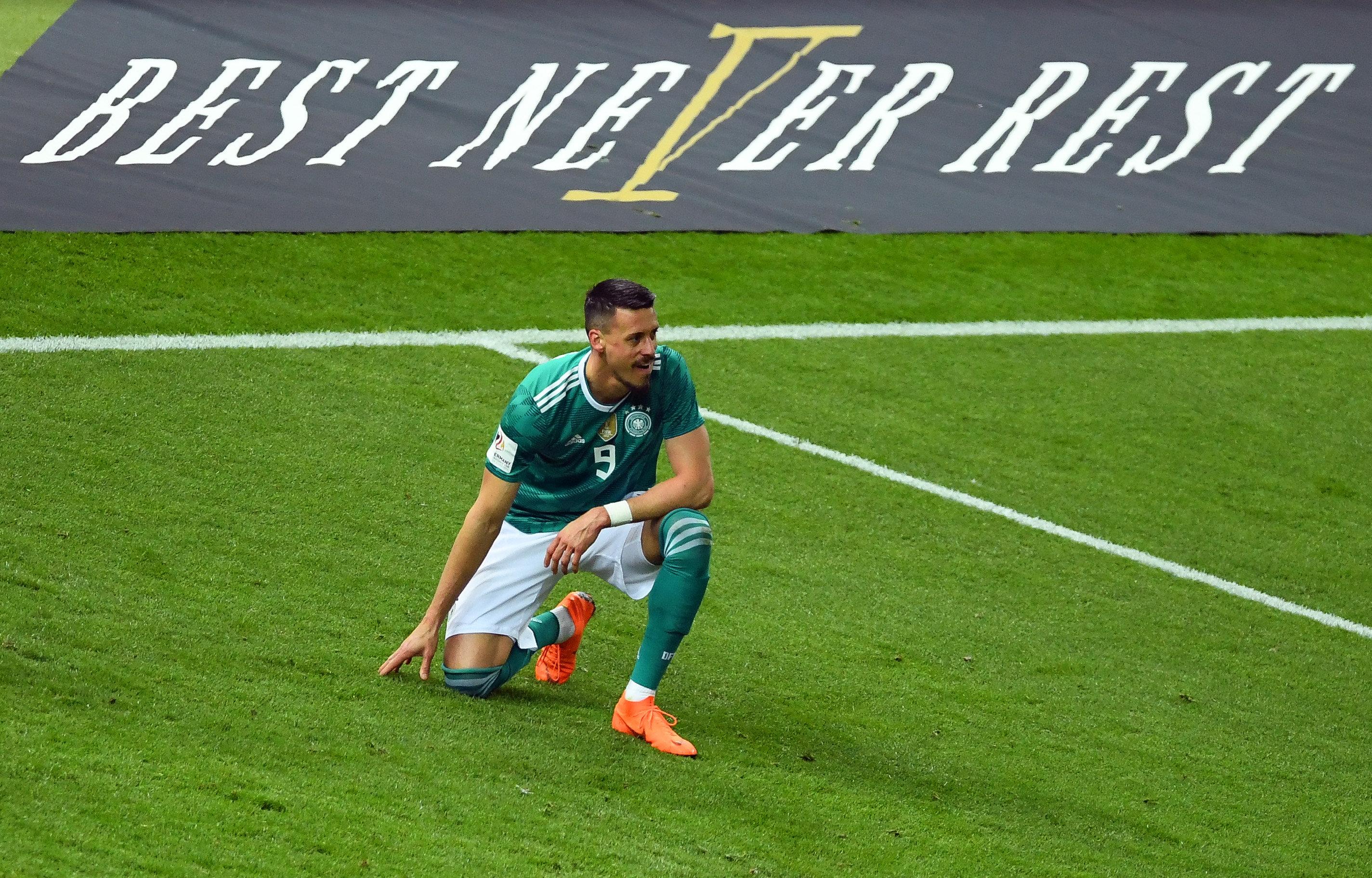 Sandro Wagner wird nicht bei der WM für Deutschland spielen.