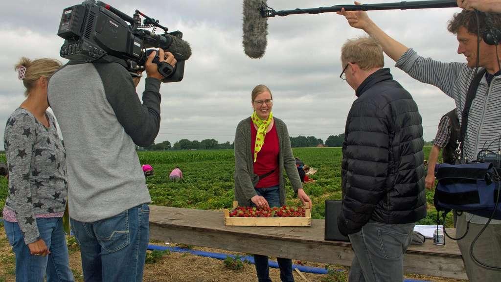 Anja Reiners steht im Fokus einer Dokumentation: Über ihr Leben, ihren Alltag und damit einhergehend auch ihre Arbeit.