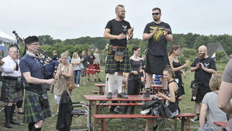 "4. ""Highland Games"" in Groß Mackenstedt"