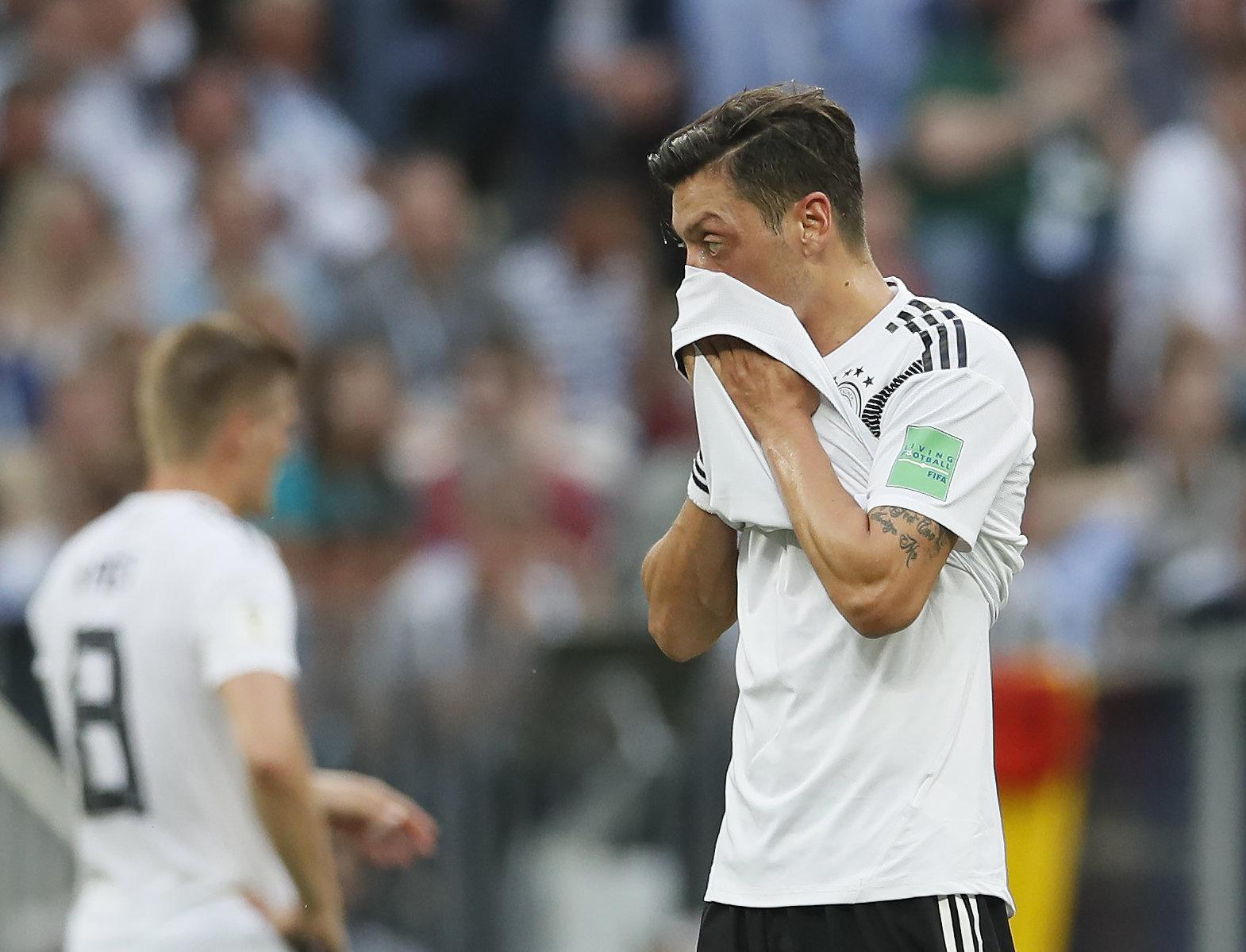 Mesut Özil blieb gegen Mexiko über weite Strecken blass.