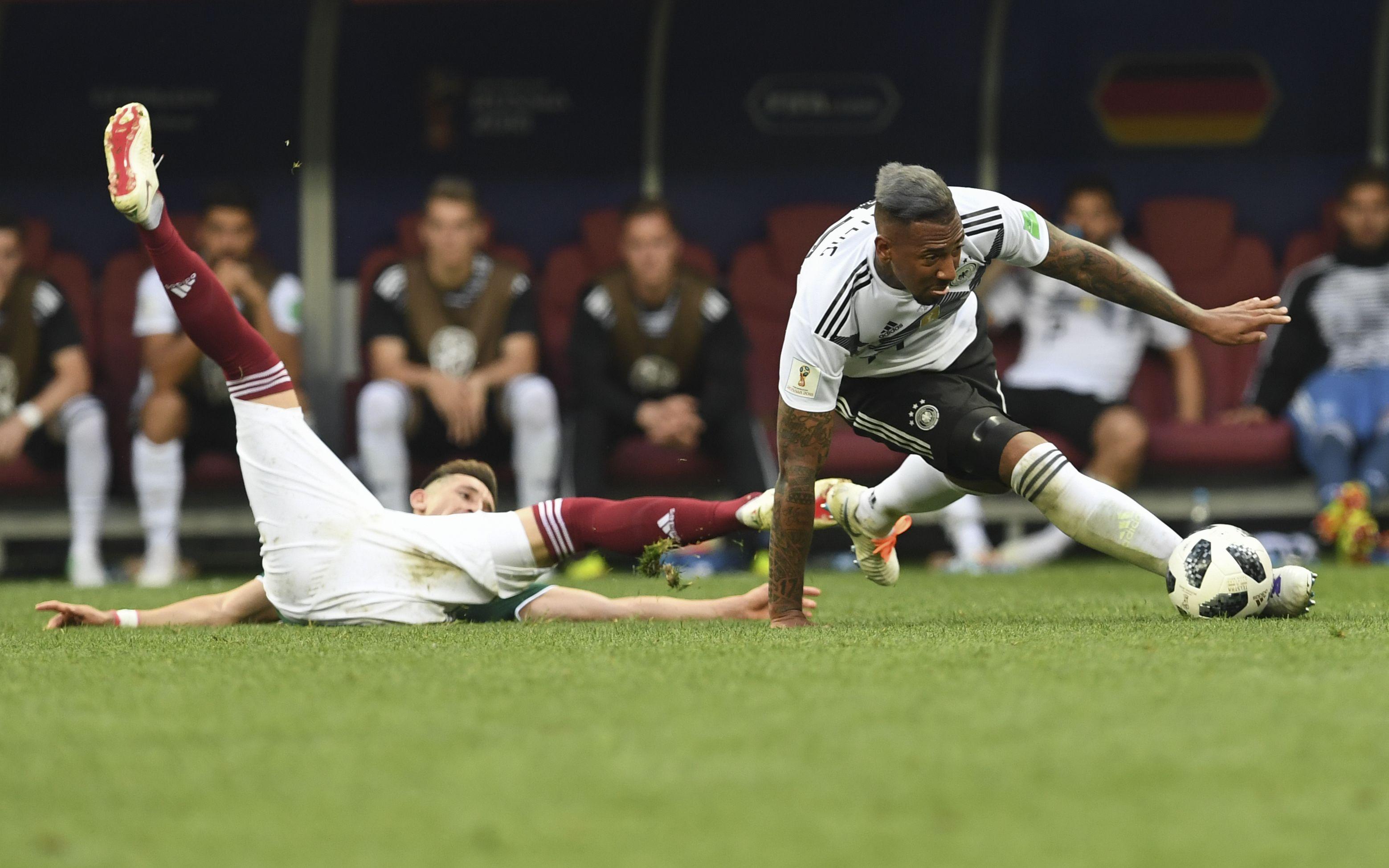 Jerome Boateng bei der Auftaktniederlage gegen Mexiko.