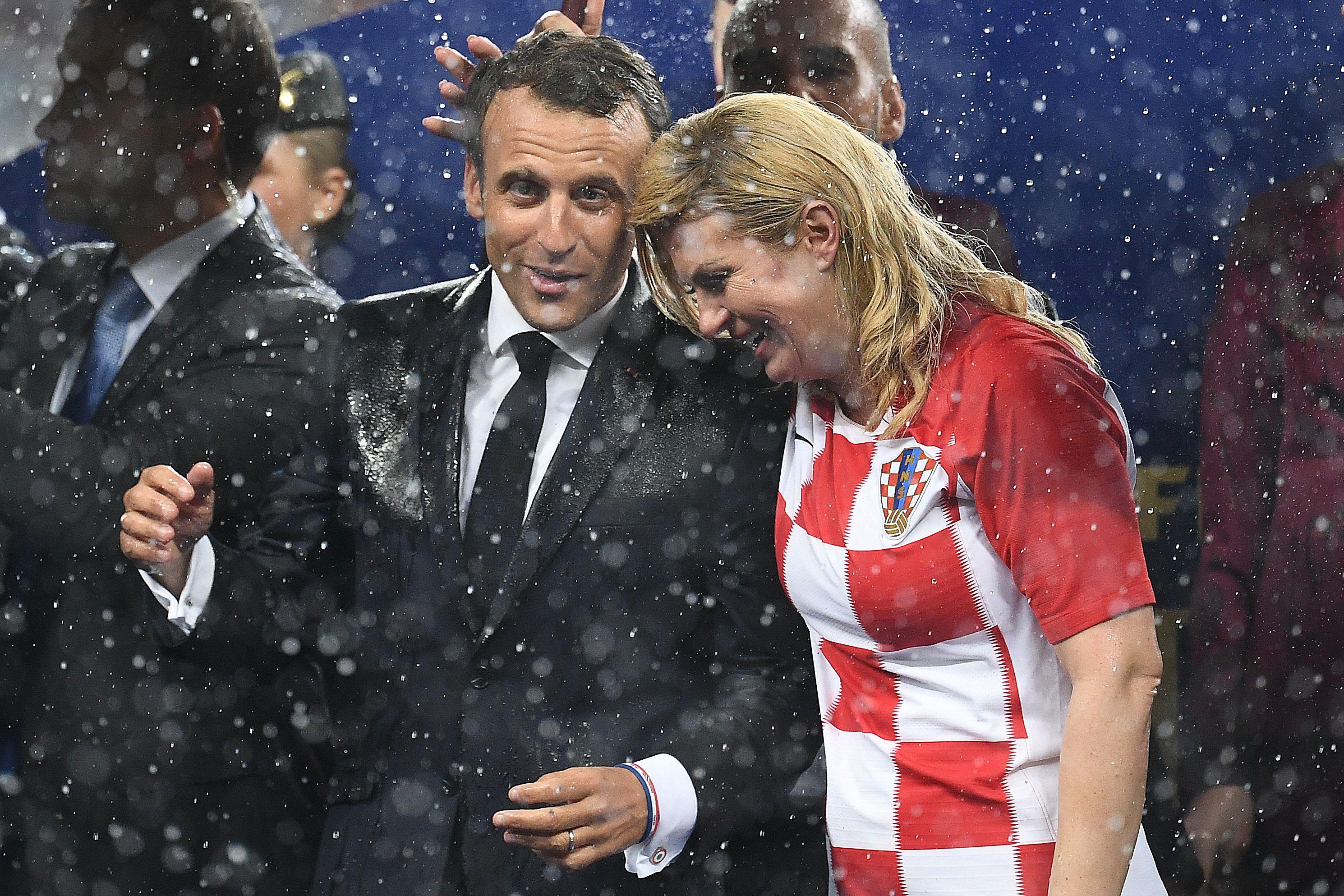 Kroatische Präsidentin
