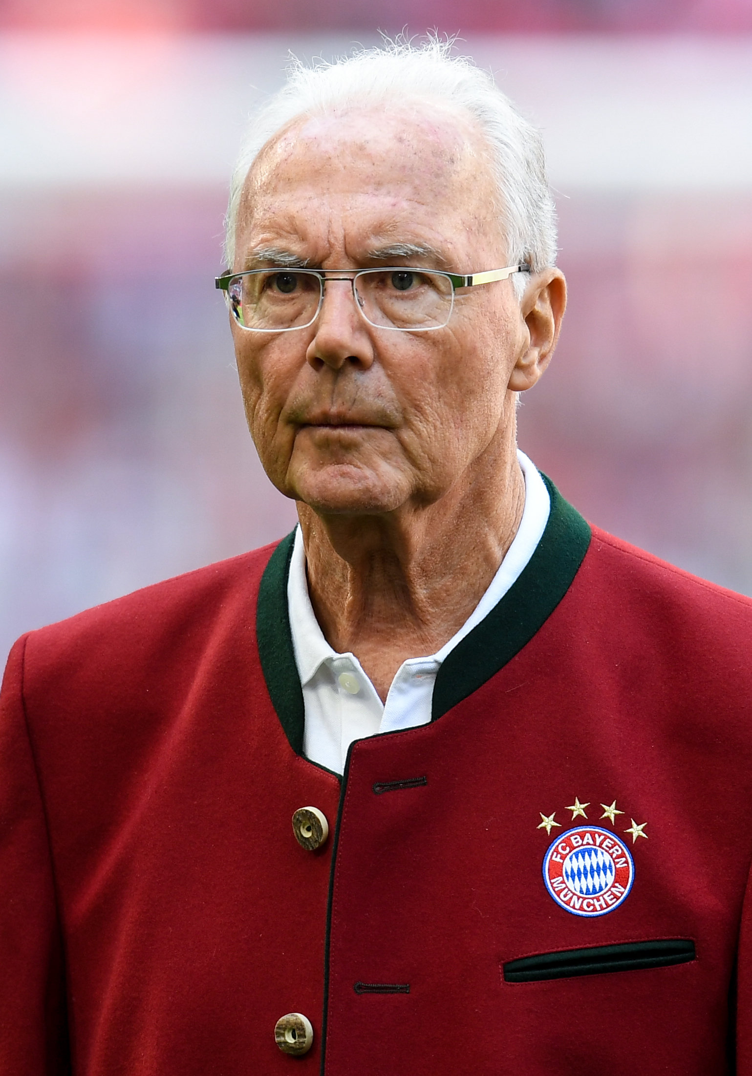 "Seit dem Skandal quasi entthront: Der ""Kaiser"" Franz Beckenbauer."