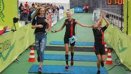 "900 Sportler starten beim ""City-Triathlon"""