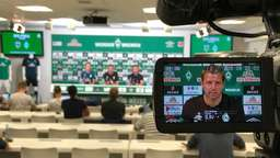 Pokal in Worms: Highlights der Werder-Pressekonferenz in 189,9 Sekunden
