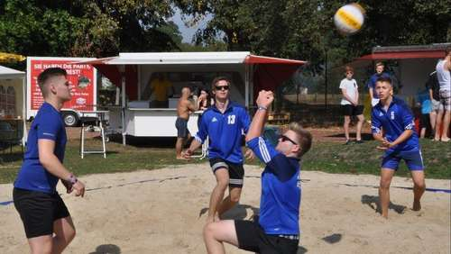 Beachvolleyball-Turnier in Rethem